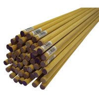 Alexandria Moulding 02512-R0036C1 0.5 x 36 in. Thunderbird Forest Dowels Hardwood   Purple - pack of 20