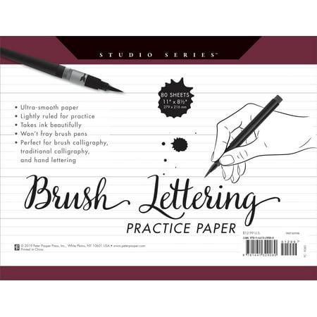 Studio Series Brush Lettering Practice Paper (Other)