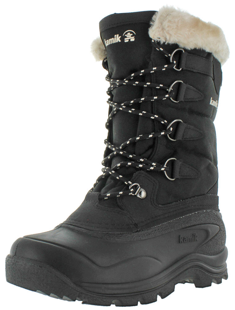 Kamik Shellback Women's Nylon Waterproof Snow Boots by Kamik