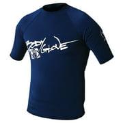 Basic Short Sleeve Lycra Shirt XS 1210-XS-CC