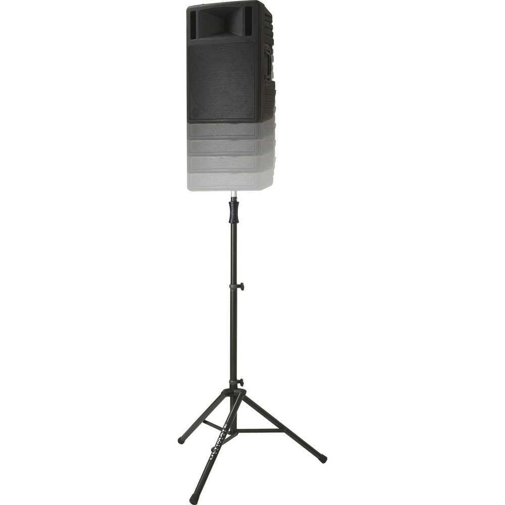 Ultimate Support TS-100 Air-Powered Speaker Stand in Black by