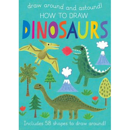 How to Draw Dinosaurs : Includes 58+ Shapes to Draw Around! - Halloween Creatures Draw