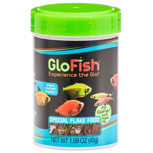 GloFish Special Flake Food 1.6 Ounce (185 Milliliter)
