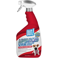 OUT! Advanced Severe Stain & Odor Remover, 32 oz