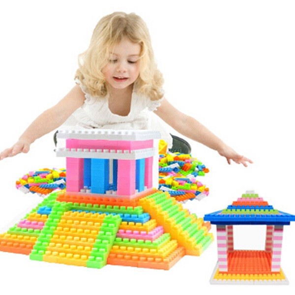 96Pcs  Building Sets Bricks & Blocks Set for Toddlers Kids Boys Girls Infant Children Toy Gift in Birthday Party