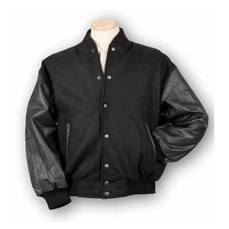 Burk'S Bay 5000-1S Small Wool and Leather Varsity Jacket in