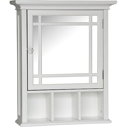 Heritage Medicine Cabinet, White by Elite Home Fashions