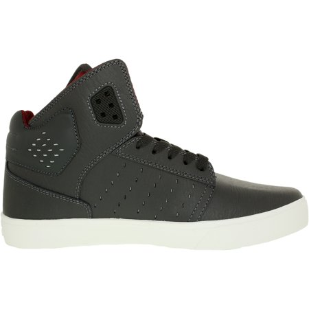 073bea03630b Supra - Supra Men s Atom Magnet White High-Top Suede Fashion Sneaker - 9.5M  - Walmart.com