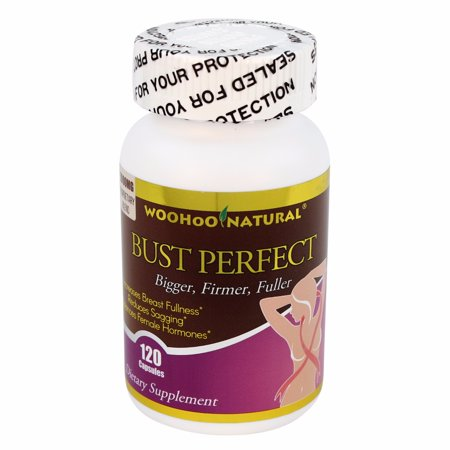 Woohoo Natural Bust Perfect - Bigger, firmer, fuller breast - 120 (Best Way To Make Breast Bigger)