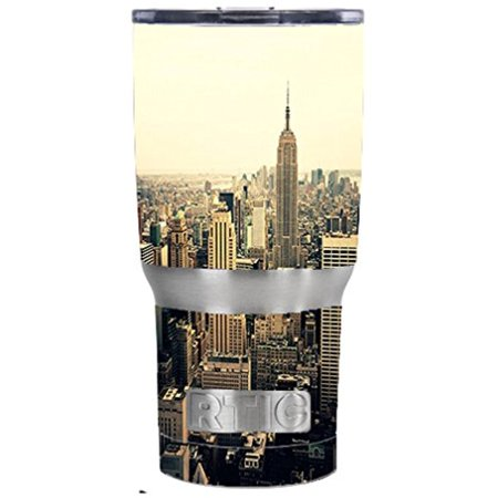 Skin Decal Vinyl Wrap For Rtic 20 Oz Tumbler Cup  6 Piece Kit  Stickers Skins Cover   New York City2