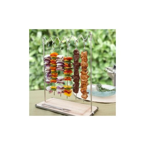 11-inch Stainless Steel Skewer Station