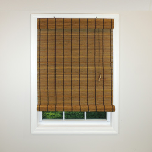 Radiance Millhouse Natural Woven Bamboo Roll Up Shades