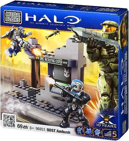 Mega Bloks Halo The Authentic Collector's Series ODST Ambush Set #96931