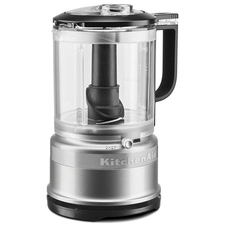 KitchenAid KFC0516CU 5 Cup Food Chopper, Contour Silver
