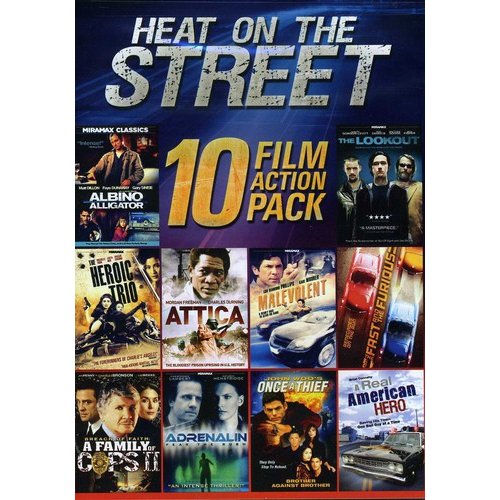 10-Film Heat on the Street [DVD]