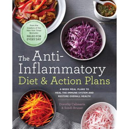 The Anti-Inflammatory Diet & Action Plans : 4-Week Meal Plans to Heal the Immune System and Restore Overall (Best Meal Plan To Get A Six Pack)