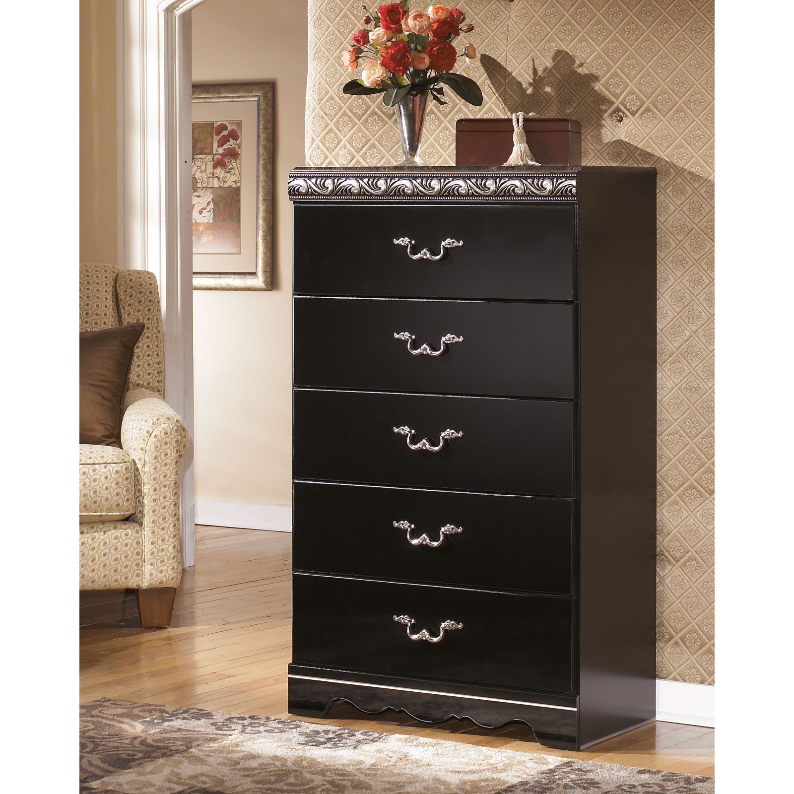 Signature Design by Ashley Constellations 5 Drawer Chest