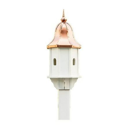 Beaver Dam Small Birdhouse - Copper Mansion Birdhouse