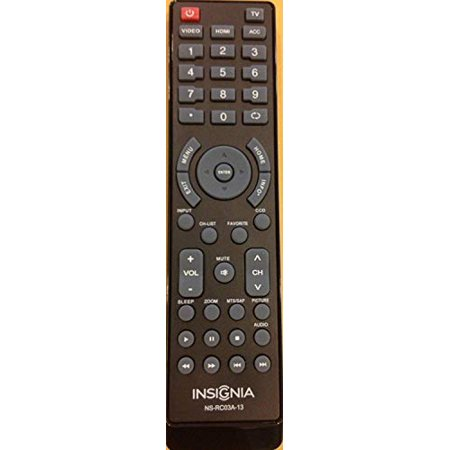 New BBY Insignia Brand tv Remote NS-RC03A-13 Sub NS-RC05A-11 remote-30 Days - image 3 of 3