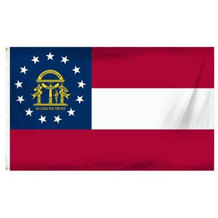 Georgia 3ft x 5ft Printed Polyester Flag