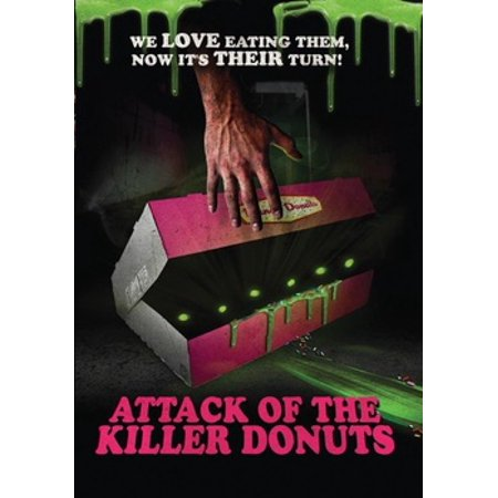 Attack of the Killer Donuts (DVD) - Halloween Jeff The Killer