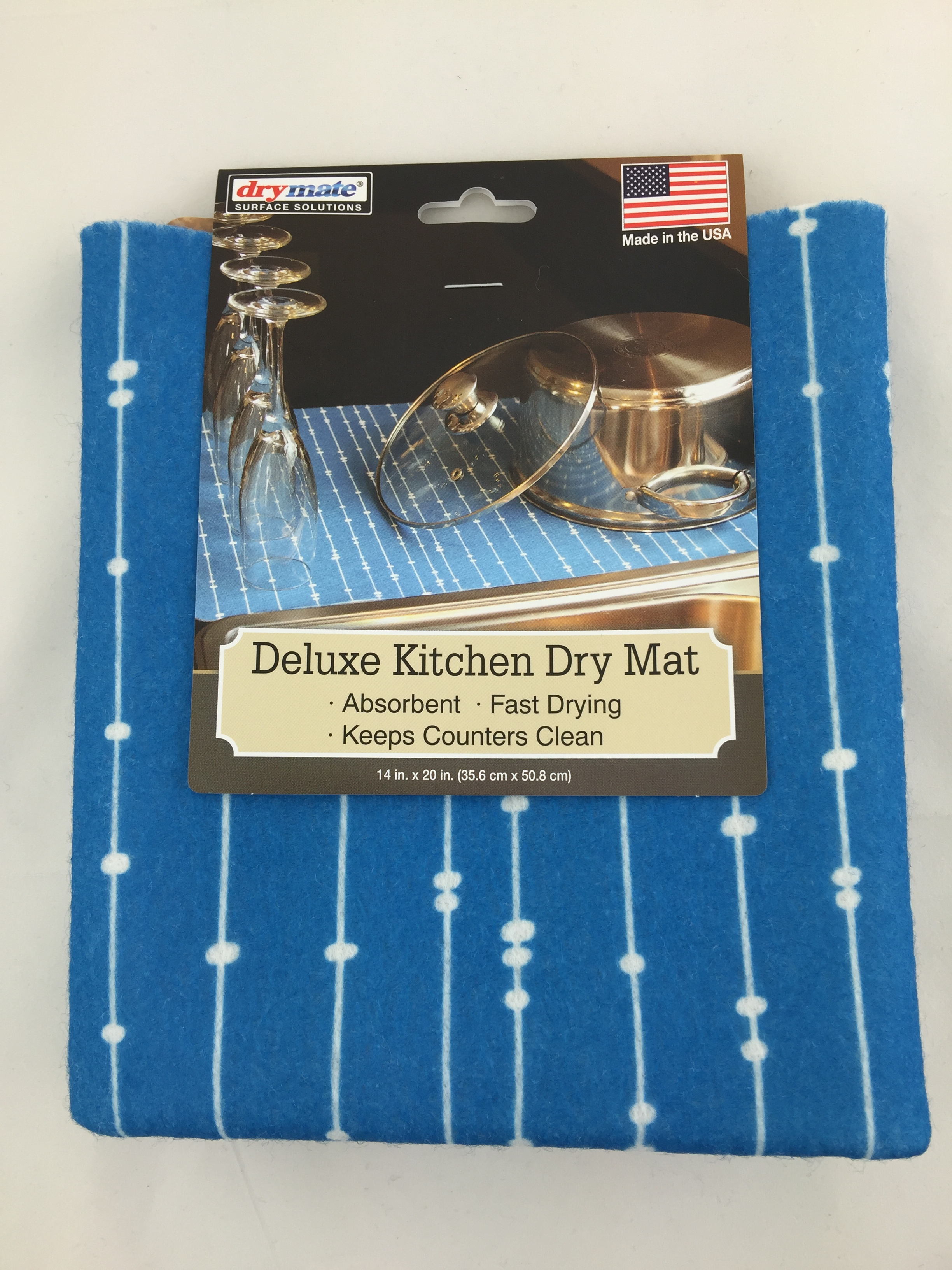 Drymate Surface Solutions Deluxe Kitchen Dry Mat, 14\