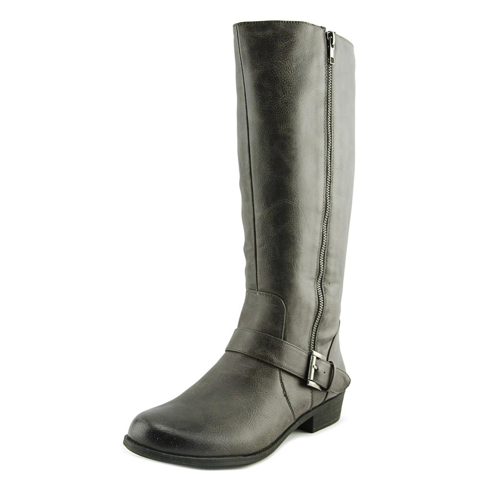 Naturalizer Veracruz Round Toe Synthetic Mid Calf Boot by Naturalizer