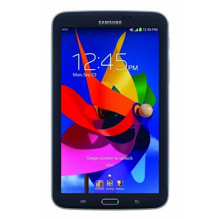 Samsung Galaxy Tab 3 - 7 inch Tablet - 1.5 GB RAM - 16 GB Rom - Wireless - AT&T - 4G LTE Support - Black - (SM-T217)