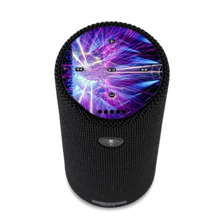 - Skin Decal For Amazon Echo Tap Skins Stickers Cover / Laser Trance Edm Lights
