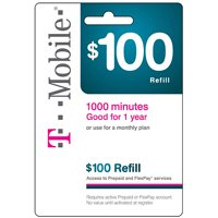 T-Mobile 1-Year Wireless Airtime Card (Email Delivery)