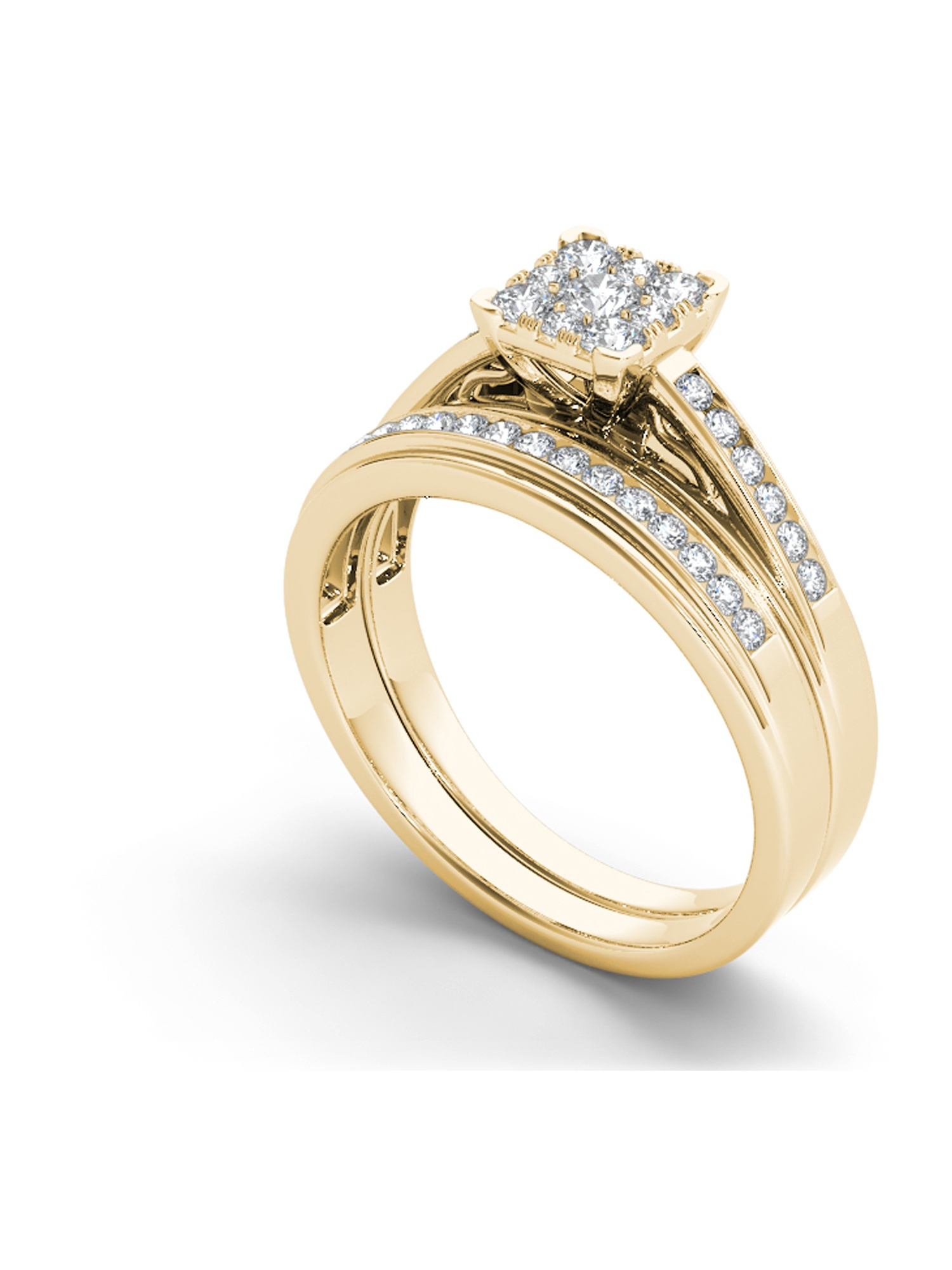 gold princessa number wedding samuel product cluster white rings diamond webstore ring carat d h