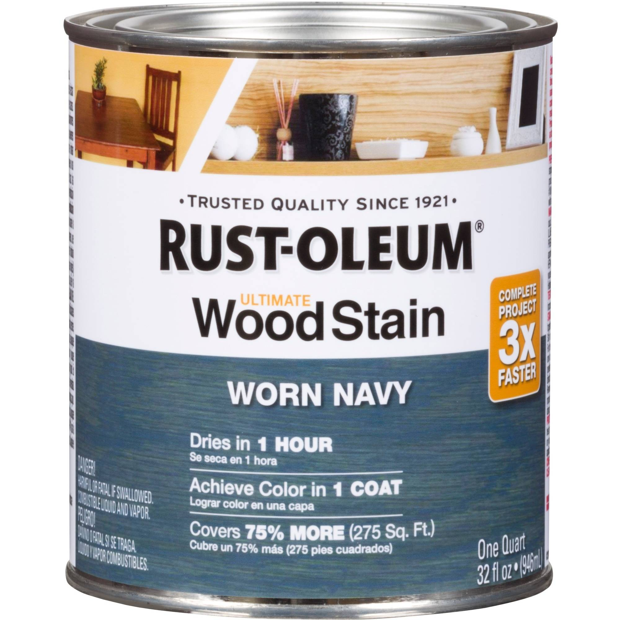 Rust-Oleum Ultimate Wood Stain, Quart