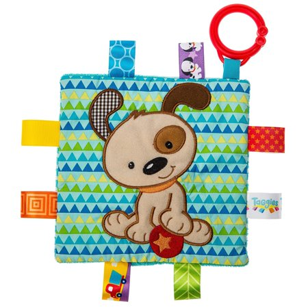taggies crinkle me baby toy, brother puppy taggies crinkle me baby toy, brother puppy