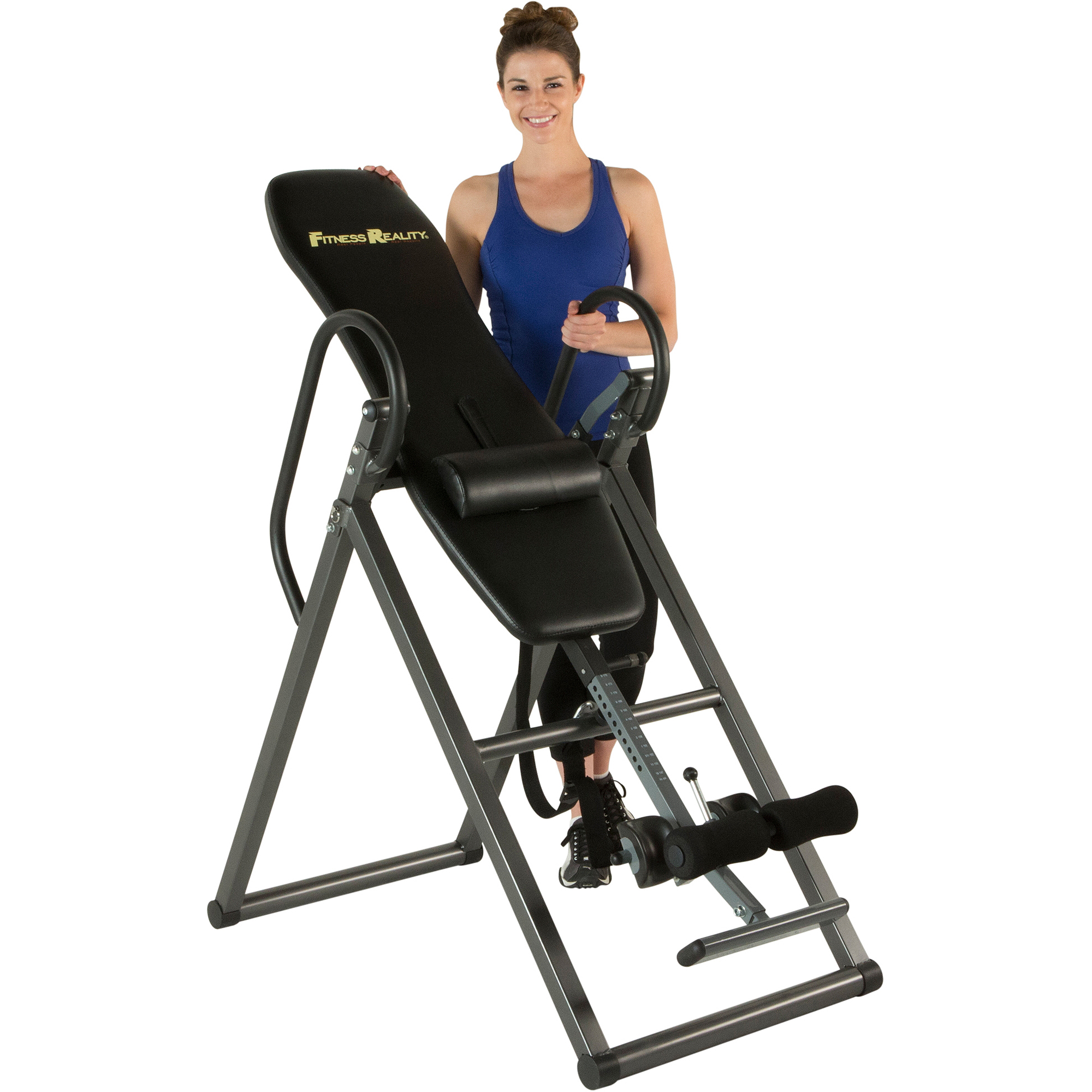 Fitness Reality 690XL Additional Weight Capacity Inversion Table with Lumbar Pillow