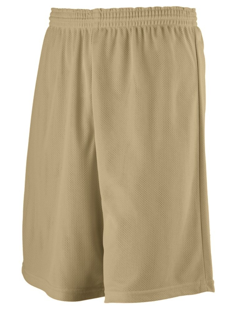 Augusta Activewear Boys Longer Length Mini Mesh League Short