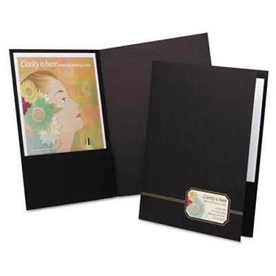 Monogram Series Business Portfolio, Premium Cover Stock, 4 Folders