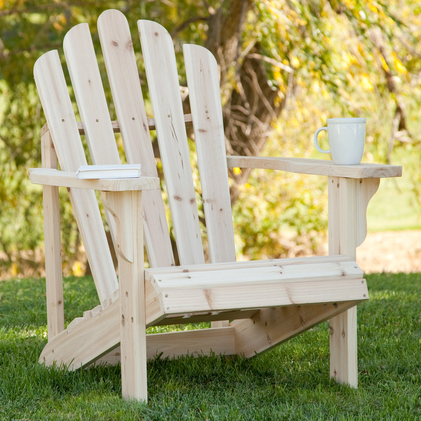 Shine Company Westport Adirondack Chair   Natural   Walmart com. Adirondack Furniture Company. Home Design Ideas