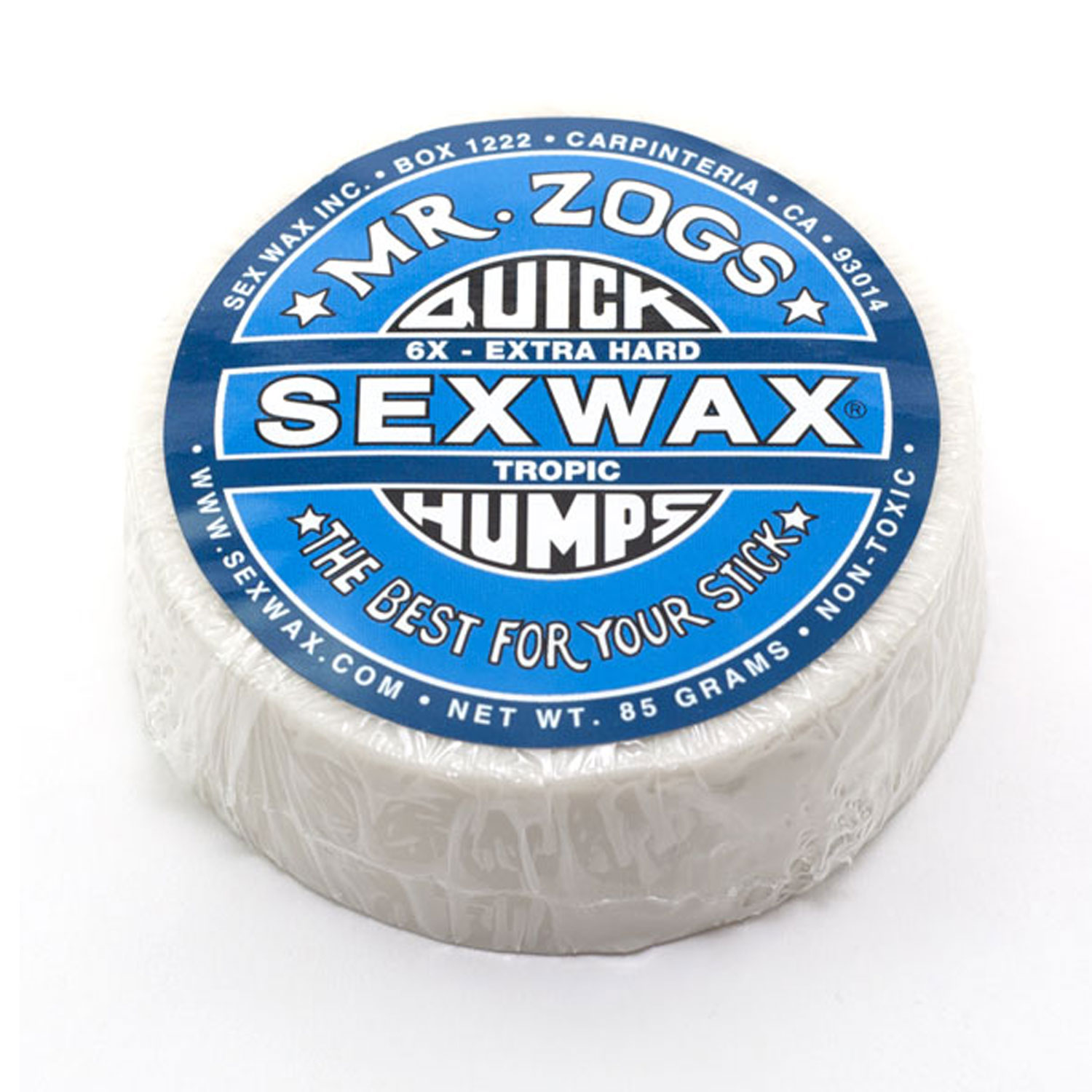 Sex wax surfboard