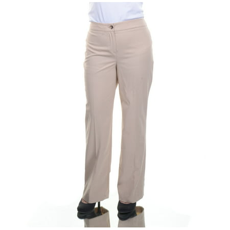 JONES NEW YORK Women's Pettite Stretch Pants Beige Size 2PS