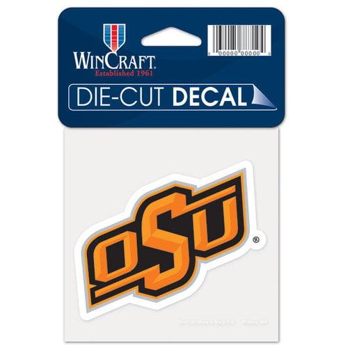 NCAA - Oklahoma State Cowboys 4x4 Die Cut Decal