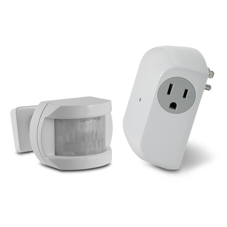 Wireless Motion Sensor With Outlet Receiver Walmart Com