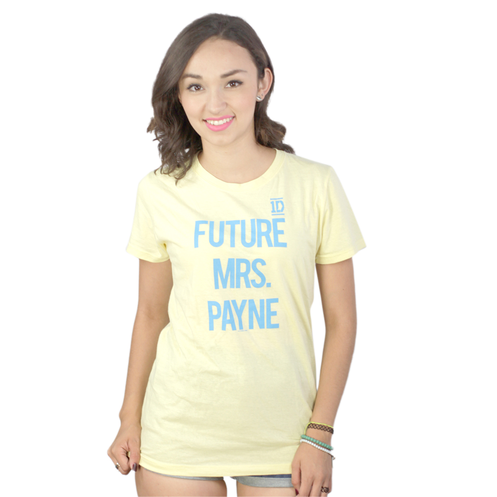 Future Mrs. Payne Yellow T-shirt NEW Sizes S-XL