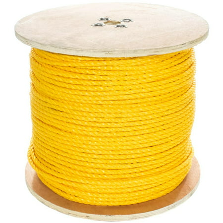 "GOLBERG Twisted Polypropylene Rope 1/4"", 5/16"", 3/8"", 1/2"", 5/8"", 3/4"" Several Colors"