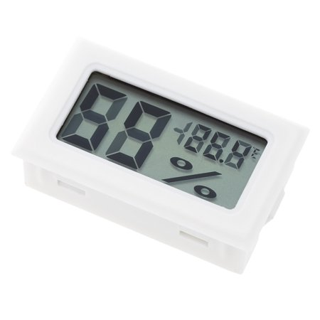 Ustyle Mini LCD Digital Thermometer Hygrometer Temperature Indoor Convenient Temperature Sensor Humidity Meter Gauge - image 5 de 6