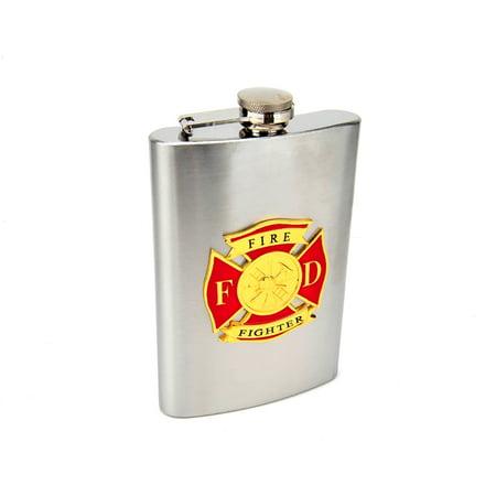 8oz Firefighter Hip Flask