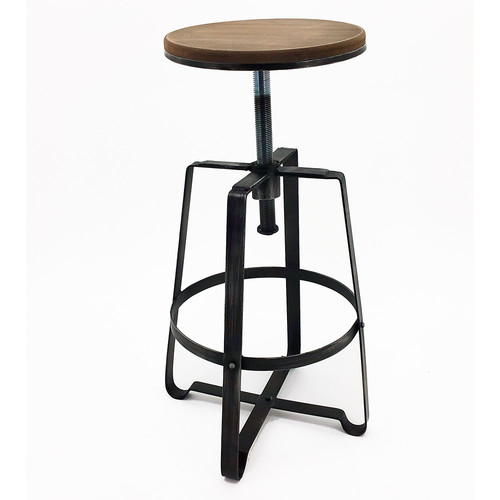 Vandue Corporation Turner Adjustable Height Bar Stool (Set of 4)