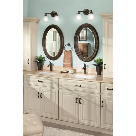 Moen 6600 Single Handle Single Hole Bathroom Faucet - Oil Rubbed Bronze