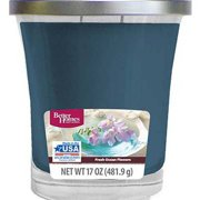 Better Homes and Gardens 17 oz Fresh Ocean Flowers Candle