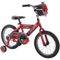 "Disney Pixar Cars Lightning McQueen 16"" Boys' Bike with Sounds, by Huffy"