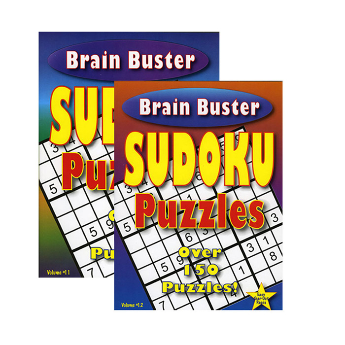 (Price Case of 48)Bazic Products 13075-48 Brain Teaser Sudoku Puzzle Book by DDI